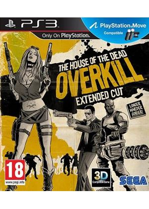 The House of the Dead: Overkill - Extended Cut (Move Compatible) (PS3)