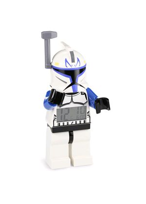 LEGO Star Wars: Captain Rex Minifigure Clock