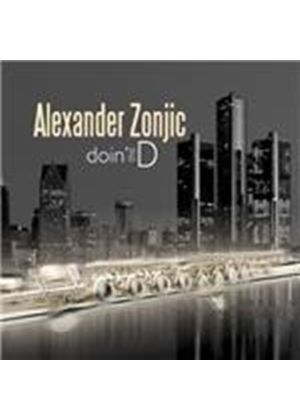 Alexander Zonjic - Doin' The D (Music CD)