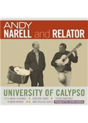 Andy Narell & Relator - University Of Calypso (Music CD)