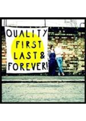 Trevor Moss & Hannah-Lou - Quality First Last Everything (Music CD)