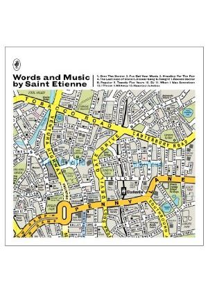 Saint Etienne - Words and Music by Saint Etienne (Music CD)