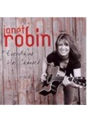 Janet Robin - Everything Has Changed (Music CD)