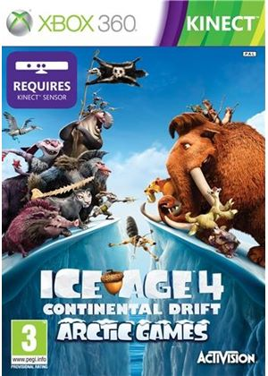 Ice Age 4: Continental Drift - Arctic Games - Kinect (Xbox 360)