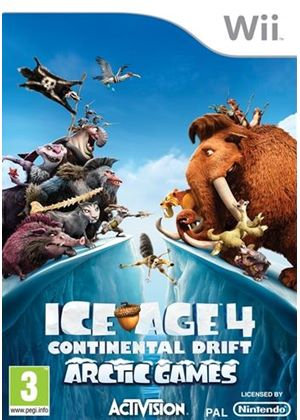 Ice Age 4: Continental Drift - Arctic Games (Wii)