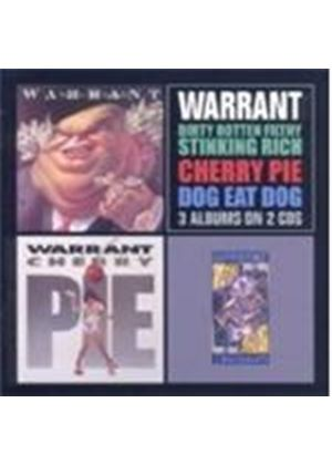 Warrant - Dirty Rotten/Cherry Pie/Dog Eat Dog (Music CD)