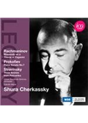 Rachmaninov: Rhapsody on a Theme of Paganini; Prokofiev: Piano Sonata No. 7; Stravinsky: Three Scene (Music CD)