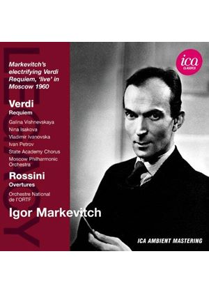 Verdi, Rossini (Music CD)
