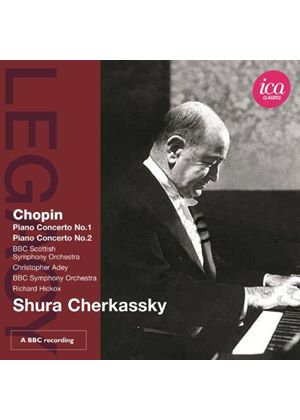 Chopin: Piano Concertos Nos. 1 & 2 (Music CD)