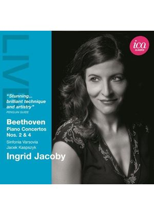 Beethoven: Piano Concertos Nos. 2 & 4 (Music CD)