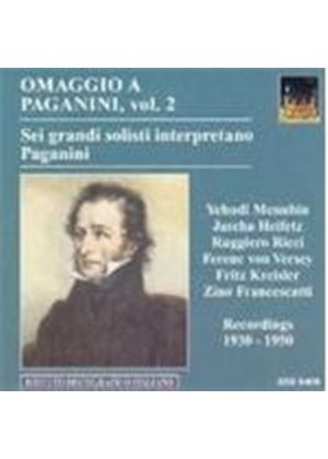 Paganini: Great Violin Soloists Interpretations, Vol 2