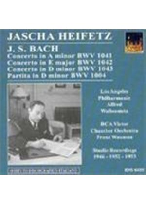 Johann Sebastian Bach - 3 Concerti, Partita In D Minor (Wallenstein, Waxman, LAPO)