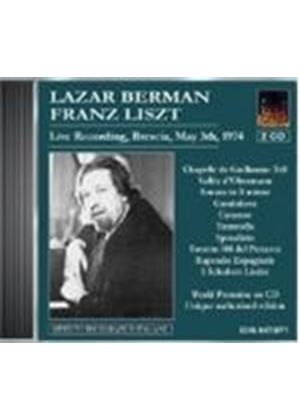 Lazar Berman plays Liszt