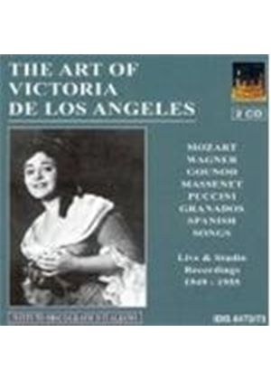 VARIOUS COMPOSERS - The Art Of Victoria De Los Angeles