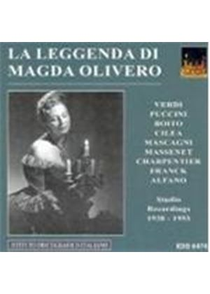 VARIOUS COMPOSERS - The Legend Of Magda Olivero