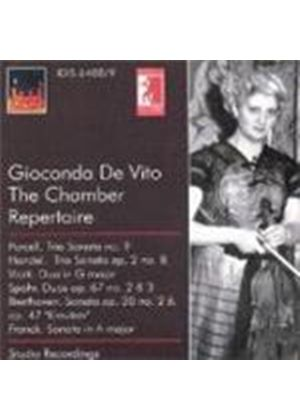 VARIOUS COMPOSERS - Gioconda De Vito: The Chamber Repertoire