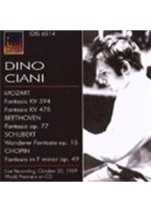 Mozart/Beethoven/Schubert/Chopin - Dino Ciani Plays