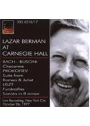 VARIOUS COMPOSERS - Lazar Berman At Carnegie Hall