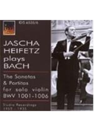 Johann Sebastian Bach - Jascha Heifetz Plays Bach: Sonatas And Partitas (Music CD)