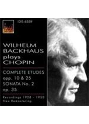 Wilhelm Backhaus Plays Chopin (Music CD)