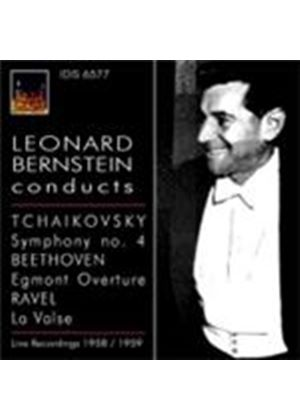 Bernstein Conducts Beethoven and Tchaikovsky (Music CD)