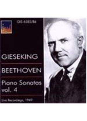 Beethoven: Piano Sonatas, Vol 4 (Music CD)