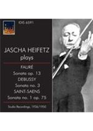 Jascha Heifetz Plays French Music (Music CD)