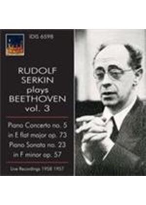 Serkin plays Beethoven, Vol 3 (Music CD)