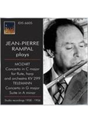 Jean-Pierre Rampal plays Mozart and Telemann (Music CD)