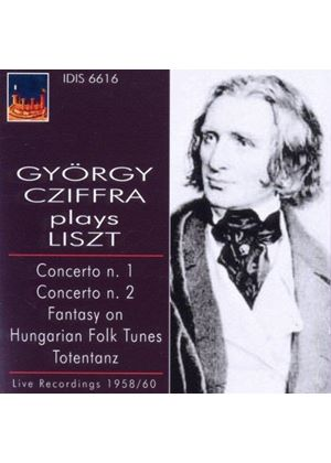 Gy�rgy Cziffra Plays Liszt (Music CD)