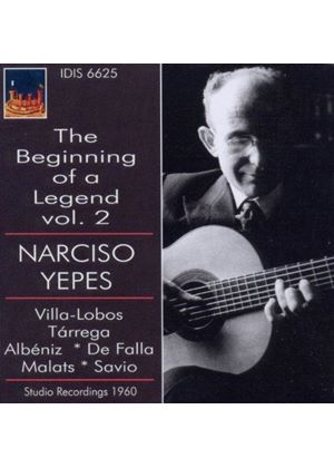Beginning of a Legend: Narciso Yepes, Vol. 2 (Music CD)