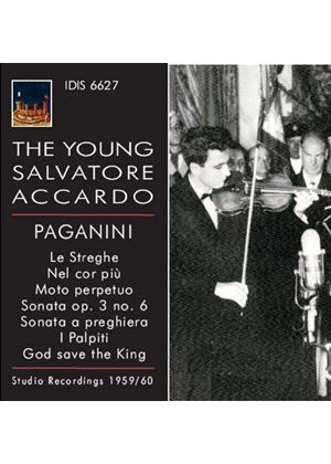 Young Salvatore Accardo: Paganini (Music CD)