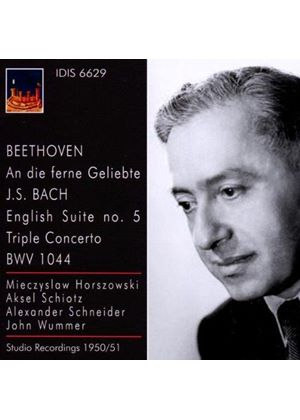 Beethoven:An die Ferne Geliebte; Bach: English Suite No. 5; Triple Concerto BWV 1044 (Music CD)