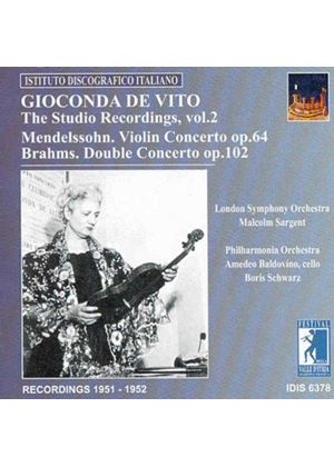 Gioconda De Vito - (The) Studio Recordings, Vol 2