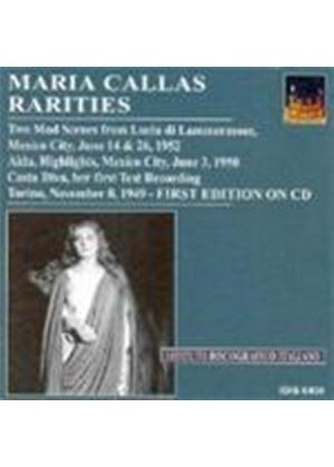 Maria Callas Rarities Vol 1