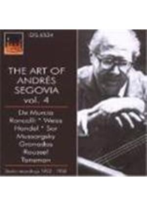 Various Composers - The Art Of Andres Segovia - Recordings 1952 - 58 (Music CD)