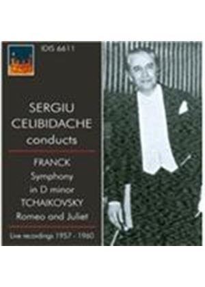 Sergiu Celibidache conducts Franck, Tchaikovsky (Music CD)