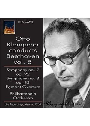 Otto Klemperer conducts Beethoven, Vol. 5 (Music CD)