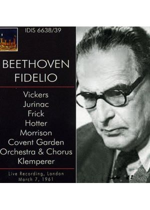 Beethoven: Fidelio (1961 Covent Garden) (Music CD)