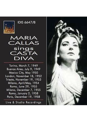 Maria Callas sings Casta Diva (Music CD)
