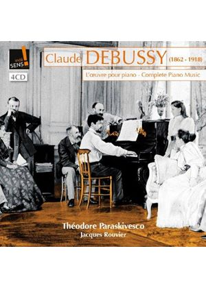 Debussy: L'Oeuvre pour Piano (Music CD)