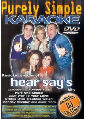 Hearsay-Purely Simple Karaoke.