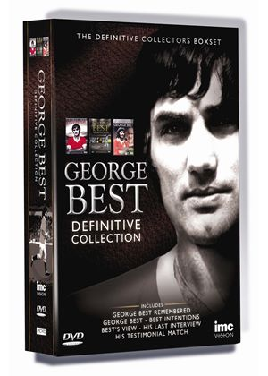 George Best - The Definitive 3 DVD Collection Box Set