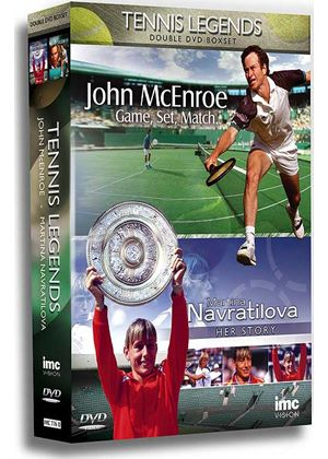Tennis Legends Double DVD Box Set (Martina Navratilova / John McEnroe)