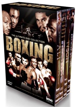 The Definitive Boxing Legends 4 DVD Box Set - Fabulous Four Hagler, Hearns, Leonard & Duran, Tyson, Muhammad Ali and The History of Heavyweight Boxing