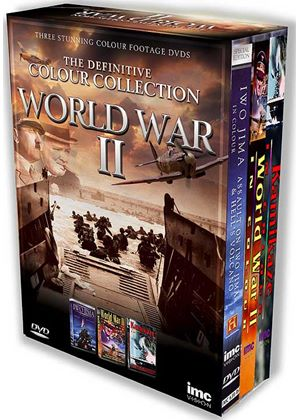 The Definitive World War 2 Box Set Containing - Iwo Jima in Colour, World War 2 in Colour & Kamikaze in Colour