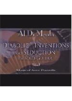 Al Di Meola - Diabolic Inventions And Seduction For Solo Guitar Volume 1 (Music CD)