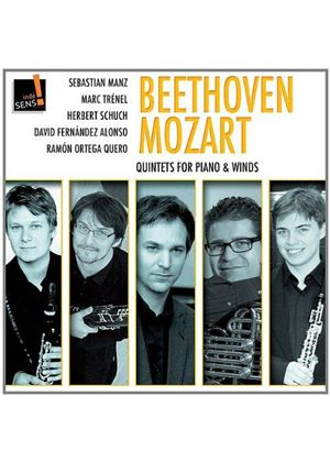 Beethoven, Mozart: Quintets for Piano & Winds (Music CD)
