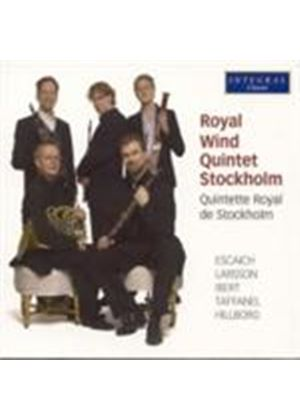 Royal Wind Quintet Stockholm (Music CD)