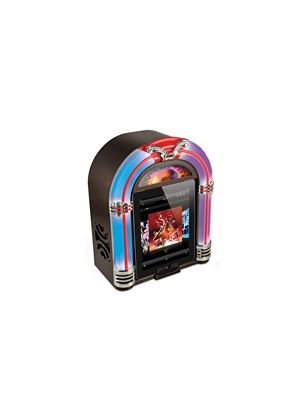 ION Jukebox Dock - Retro Speaker Dock for iPad, iPhone and iPod